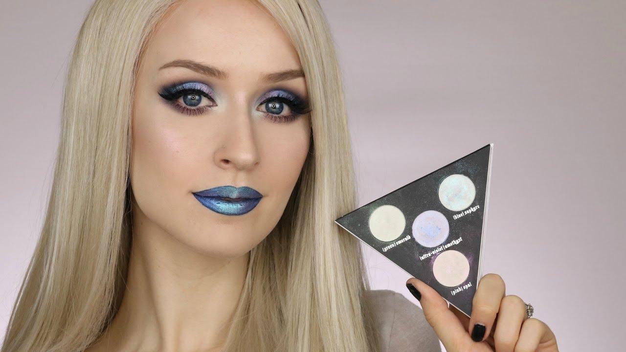 makijaż holograficzny