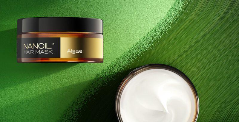 nanoil algea maska na włosy